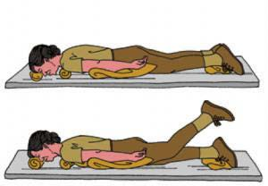 Prone Leg Lifts